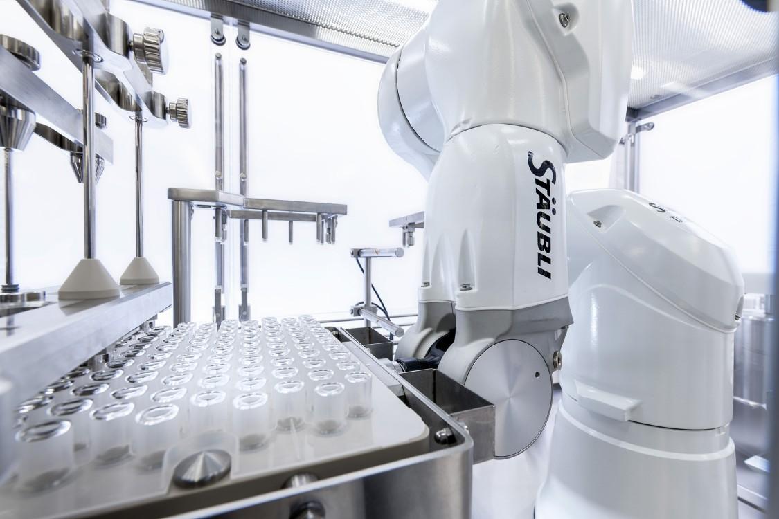 Picture Stäubli robot