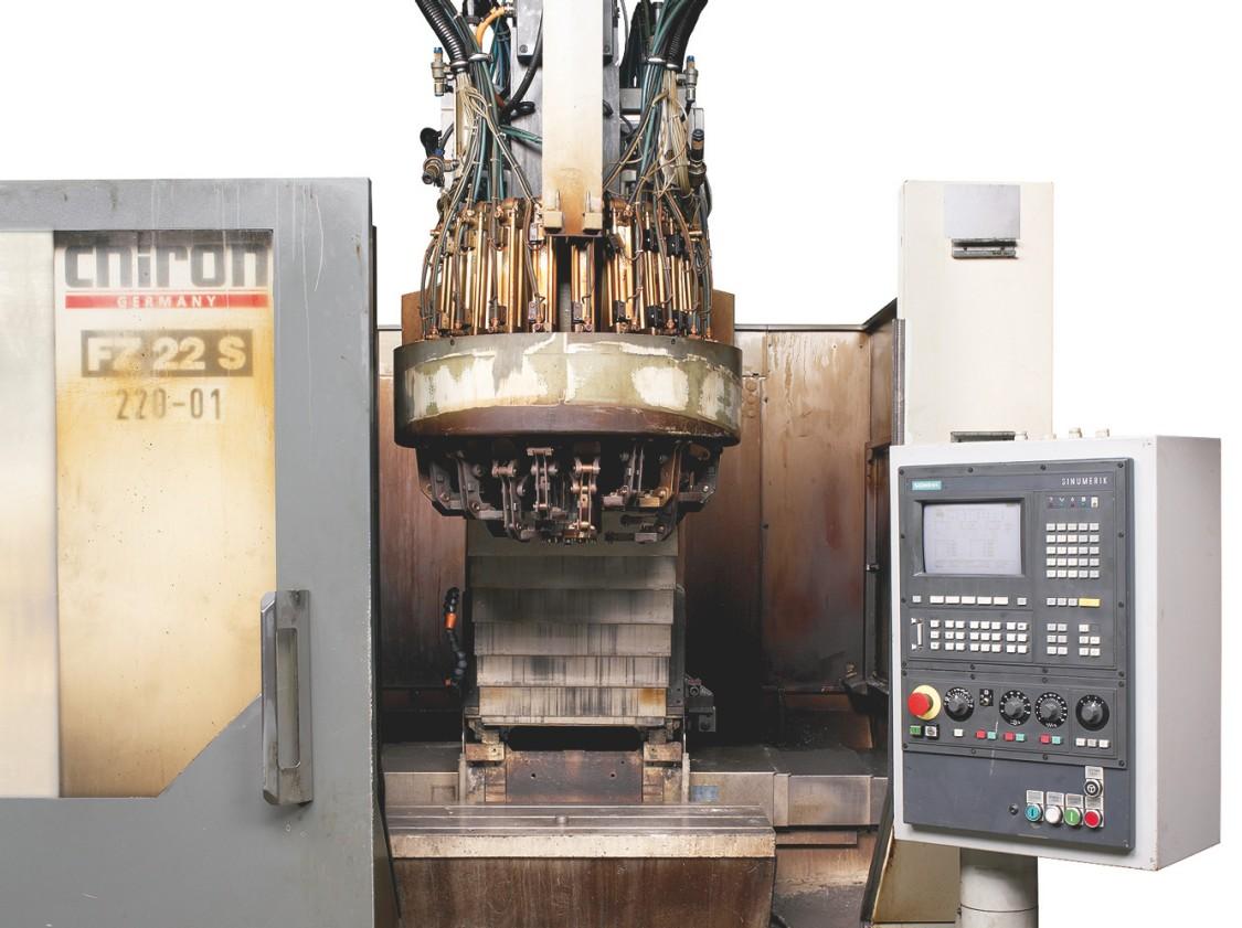 Maskin före modernisering