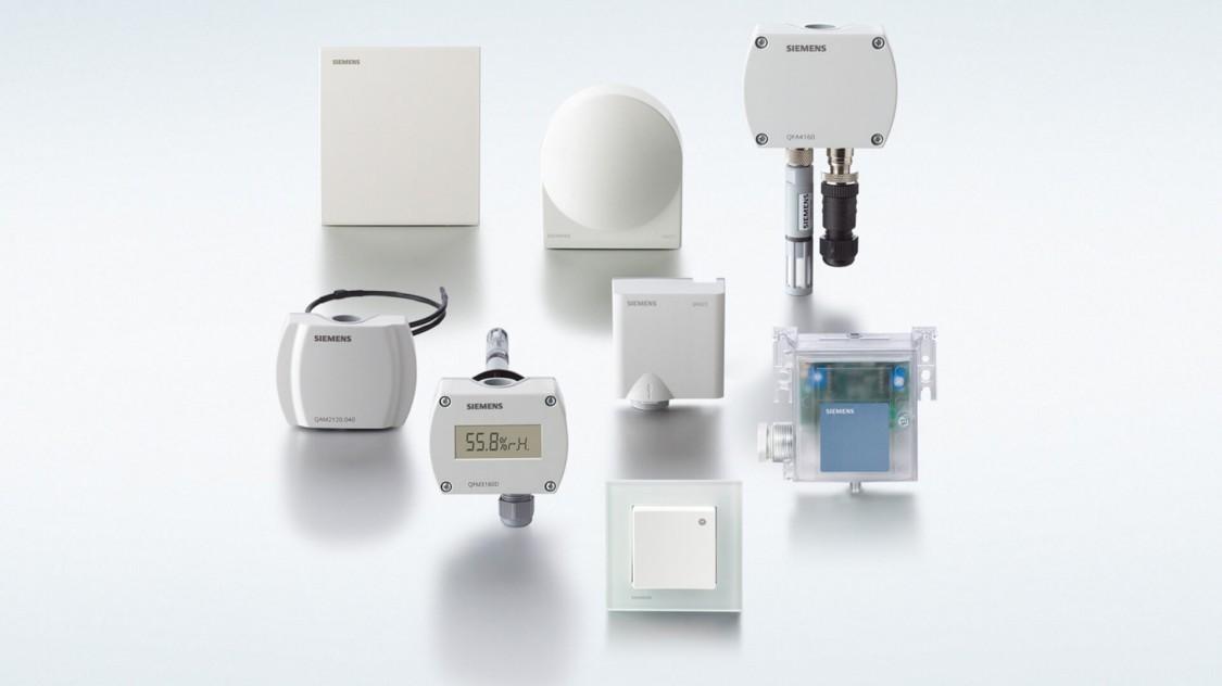 Sonde Symaro Sonde de température Sonde de température Sonde d'humidité Sonde d'humidité Sonde d'ambiance Sonde pour gaine Sonde encastrée Sonde pour montage en saillie