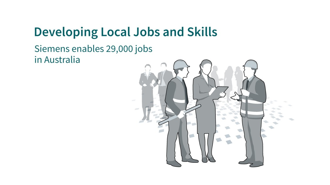 Developing local jobs and skills