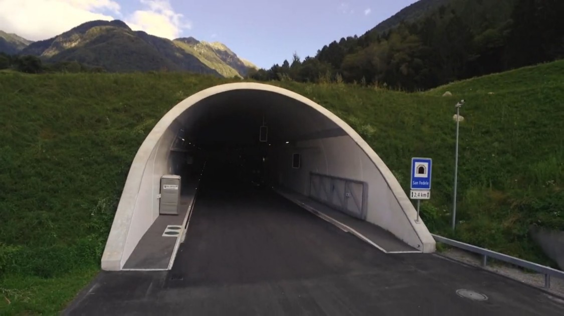 Tunnel Roveredo
