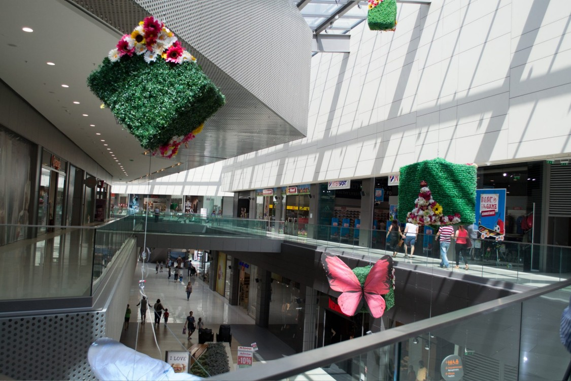 Sofia Ring Mall in the capital of Bulgaria