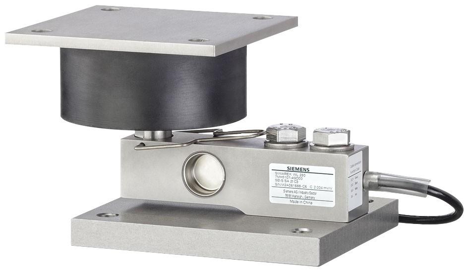 USA | Base plate with Elastomer bearing SIWAREX WL230 SB-S SA