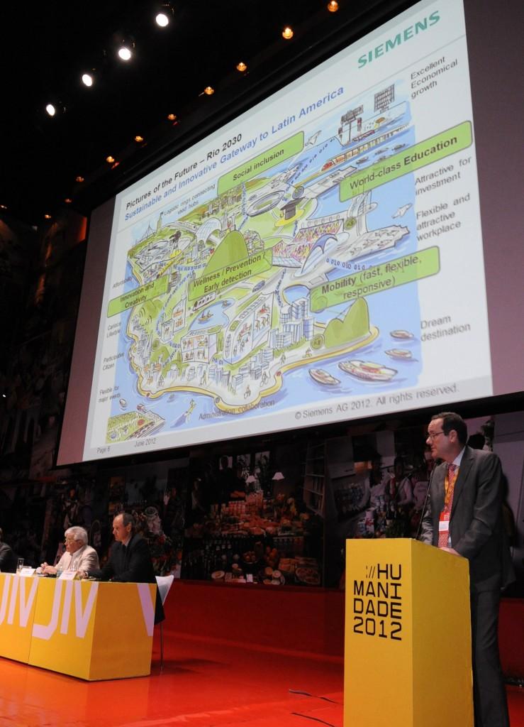 Siemens setzt auf UNO-Konferenz in Rio de Janeiro Zeichen für Nachhaltigkeit