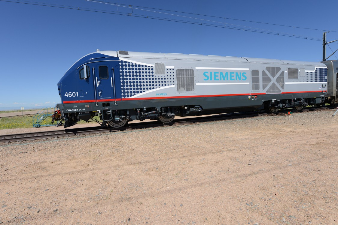 New clean, efficient, high-performance diesel-electric locomotives roll into the Midwest