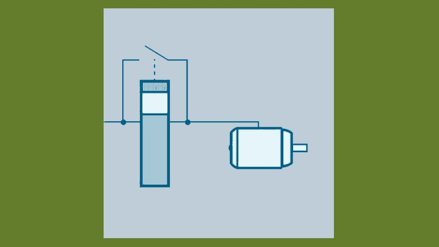 drives energy efficiency - bypass mode
