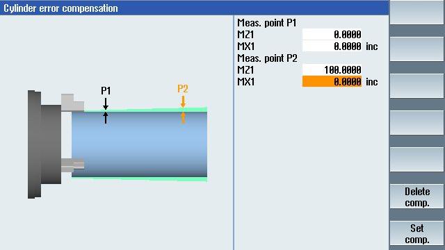 CNC Grinding - Compensation / program termination