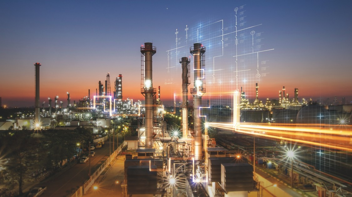 Automation and digitalization in oil refineries