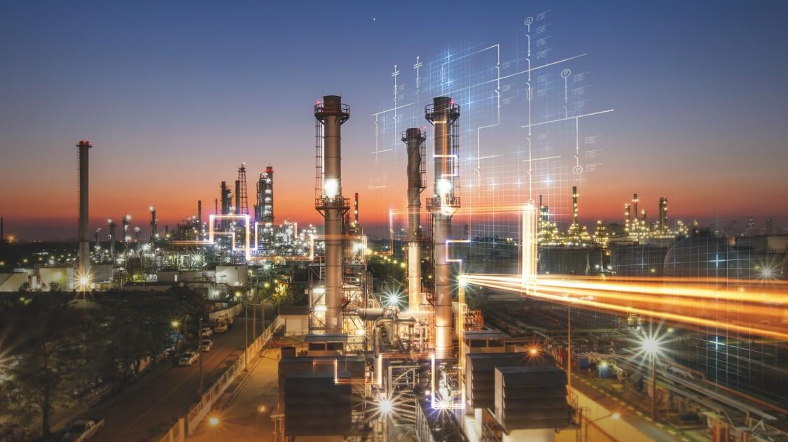 Automatización y digitalización en refinerías de petróleo