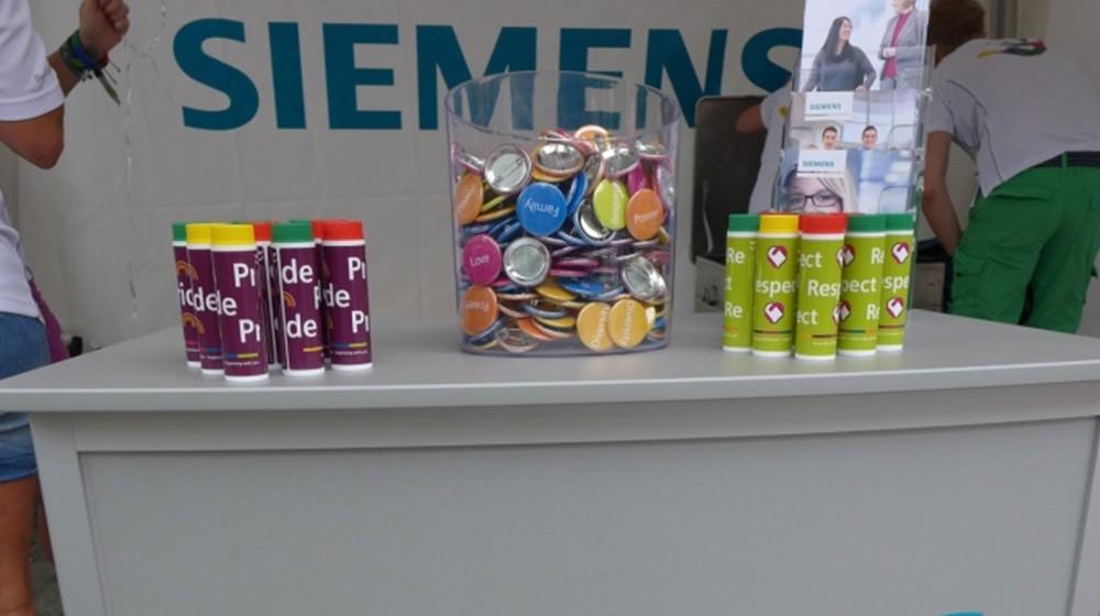 Siemens auf dem CSD 2015