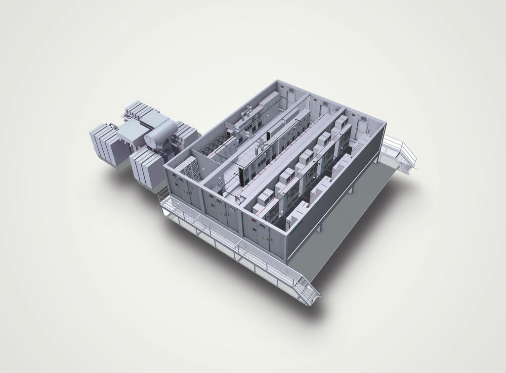Dieses Bild zeigt ein E-House in 3D.