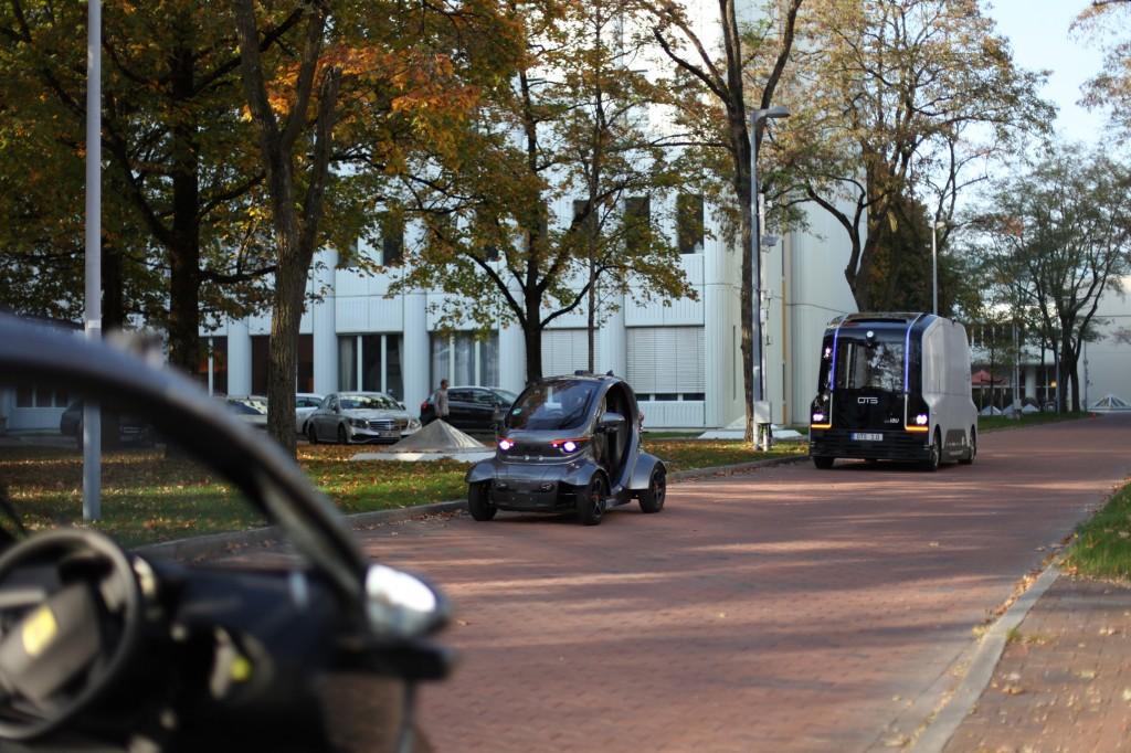 Fahrzeug-zu-Infrastruktur-Kommunikation: Testfeld für autonomes Fahren in München