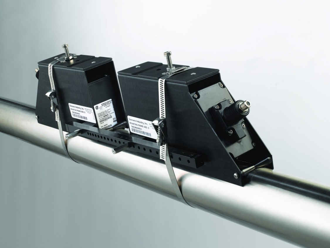 SITRANS Clamp-on Durchflussmesssysteme