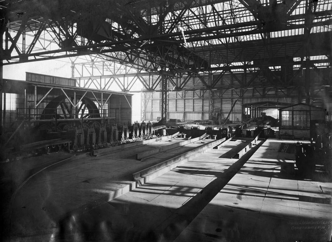 Rolling mill, 1908