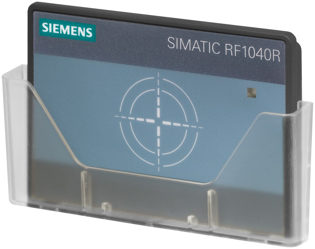 Siemens is extending its RFID (Radio Frequency Identification) portfolio to include the new Simatic RF1040R reader, which supports LF-transponder systems (125 kHz) and HF systems (13,56 MHz)