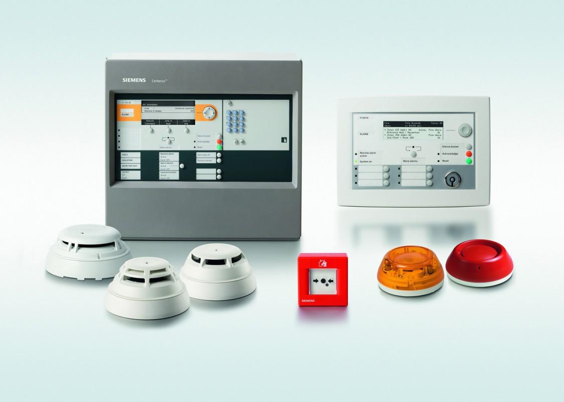 Siemens branddetektorer