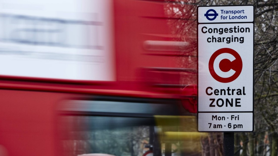 image of congestion charging london