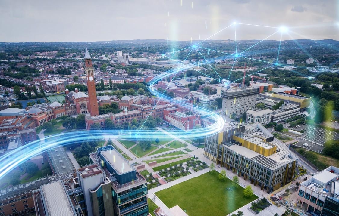 Взаимодействие умных зданий и интеллектуальных сетей