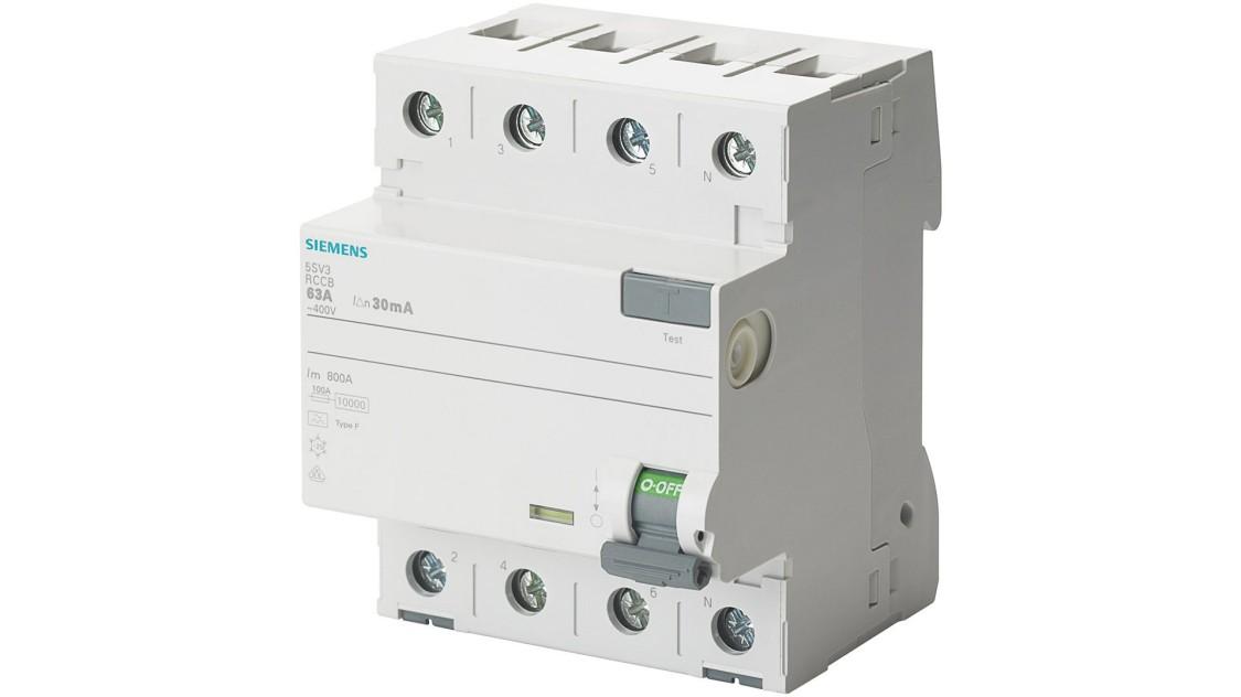 Устройства защиты от дифференциальных токов