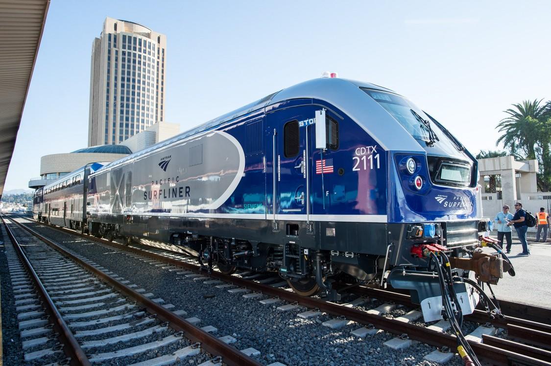 Amtrak Surliner Locomotive