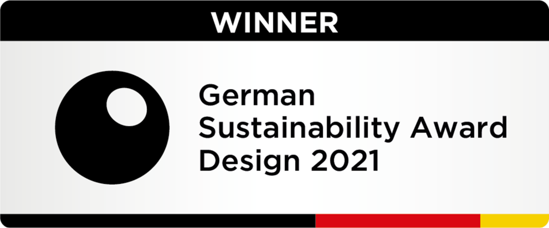 Mireo is winner for the 13th German Sustainability Award Design.