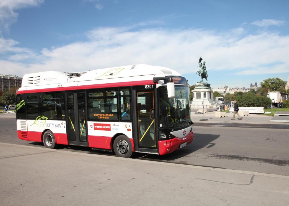 Dobíjecí infrastruktura pro elektrobusy Rampini