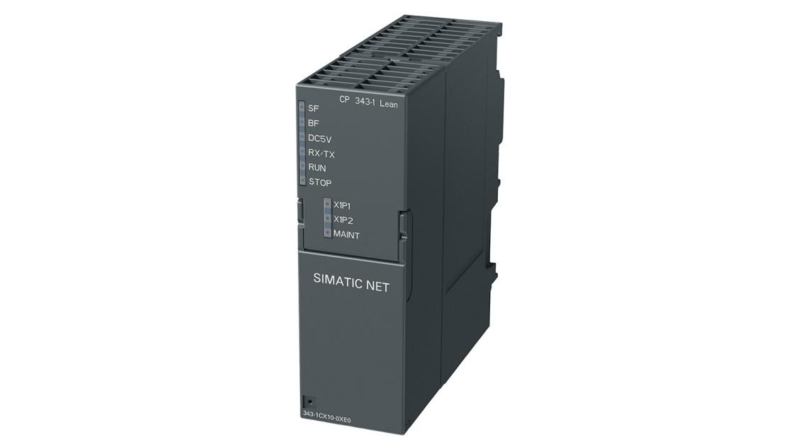 Коммуникационный процессор 343-1 Lean