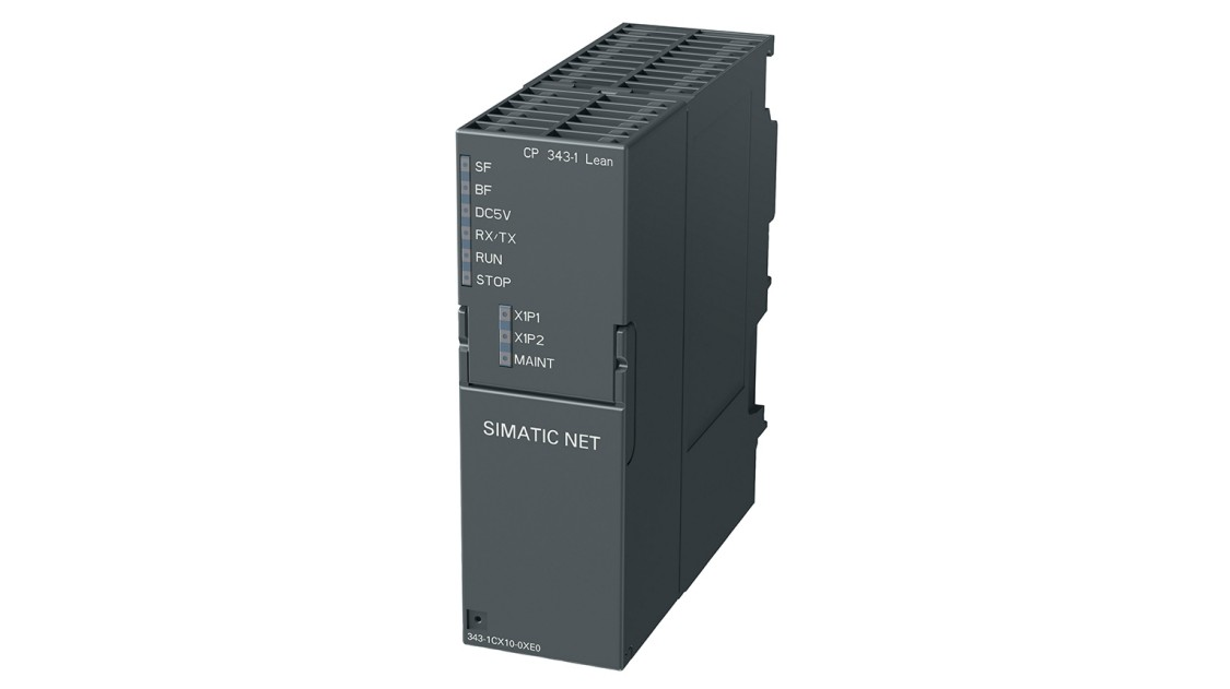 Product image of a CP 343-1 Lean for SIMATIC S7-300 Advanced Controllers