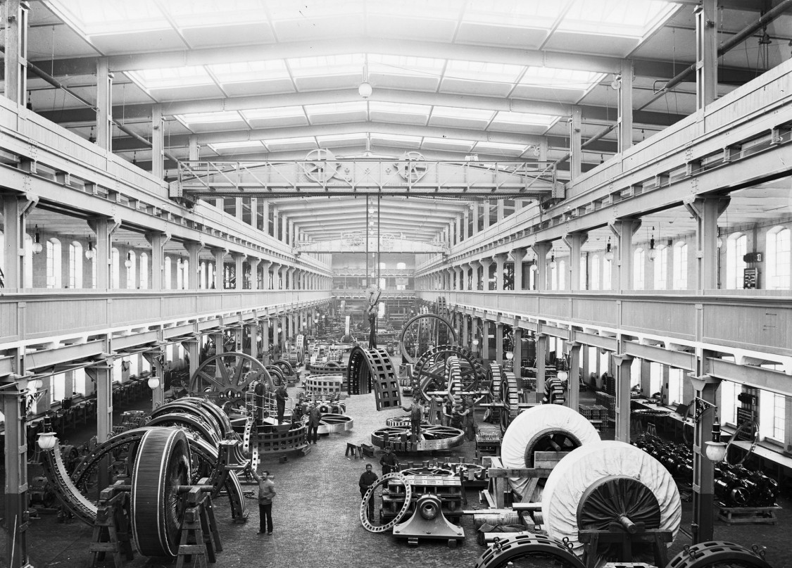 Nürnberger Werk EAG, 1901