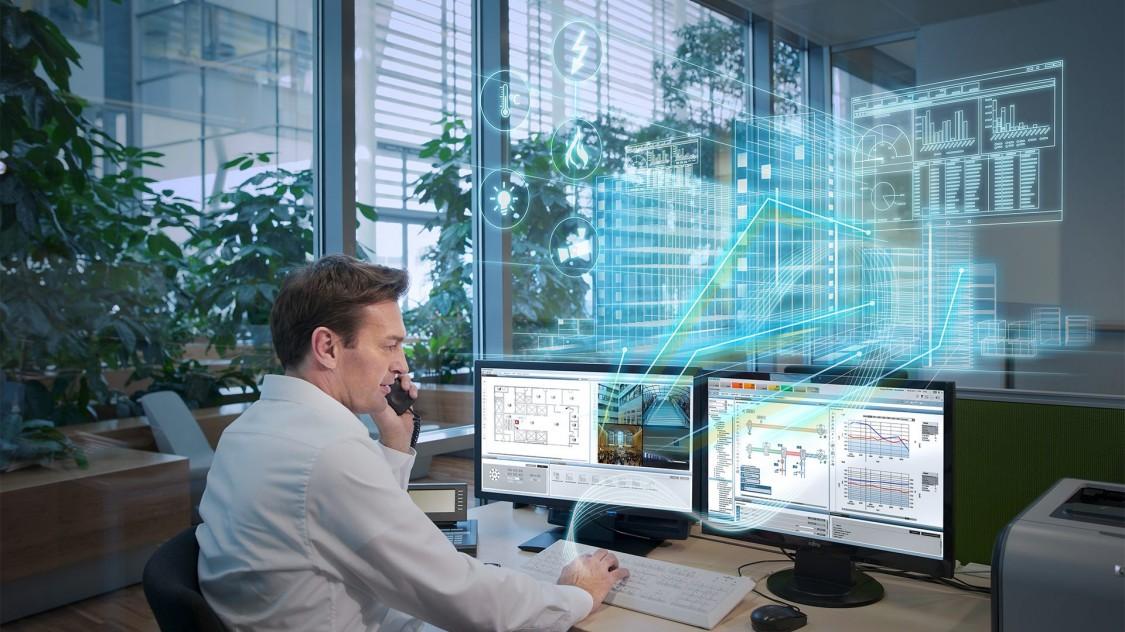 Desigo CC -Gebäudemanagementplattform