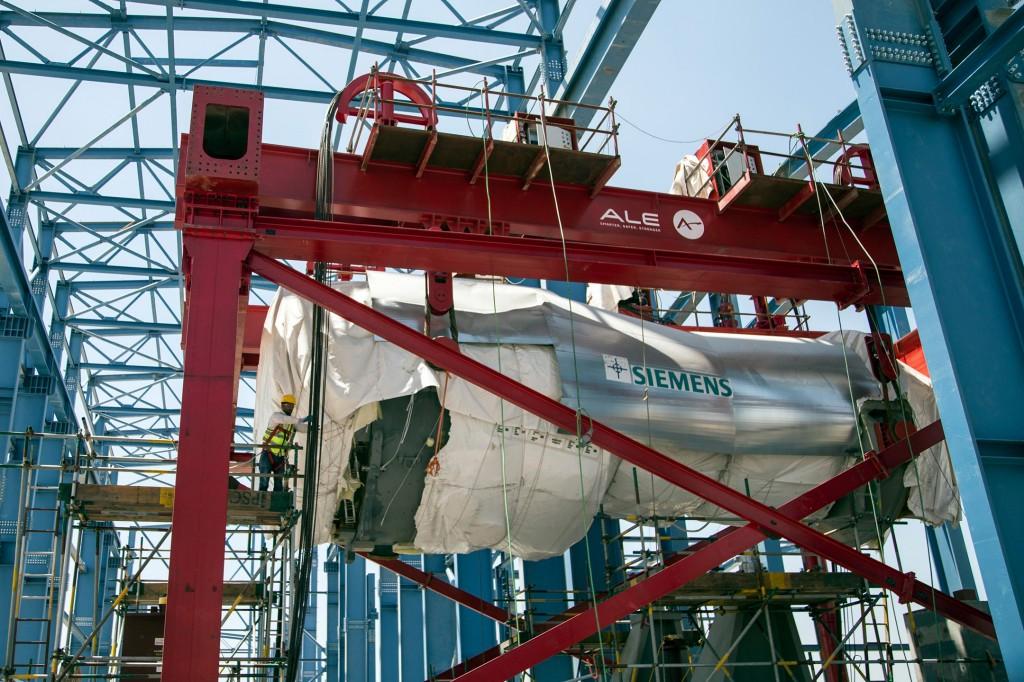 Module für ersten Abhitzedampferzeuger auf dem Weg nach Ägypten