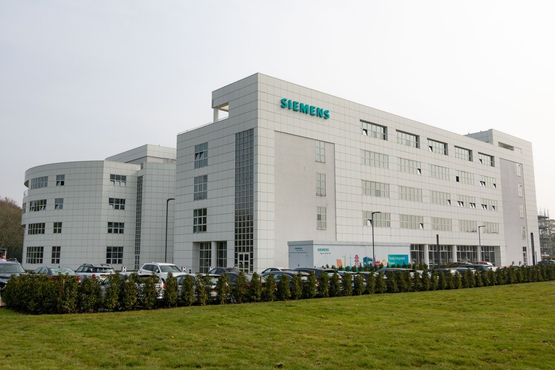 Siemens Manchester office and training centre