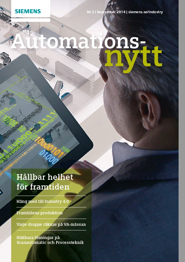 Automationsnytt Nr 2 | September 2014