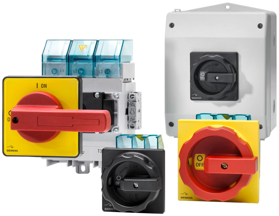 3LD Main Control and EMERGENCY-STOP Switches