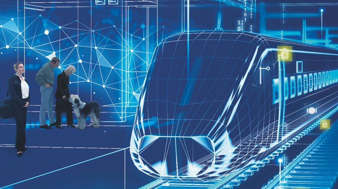 IT security and cybersecurity for rolling stock