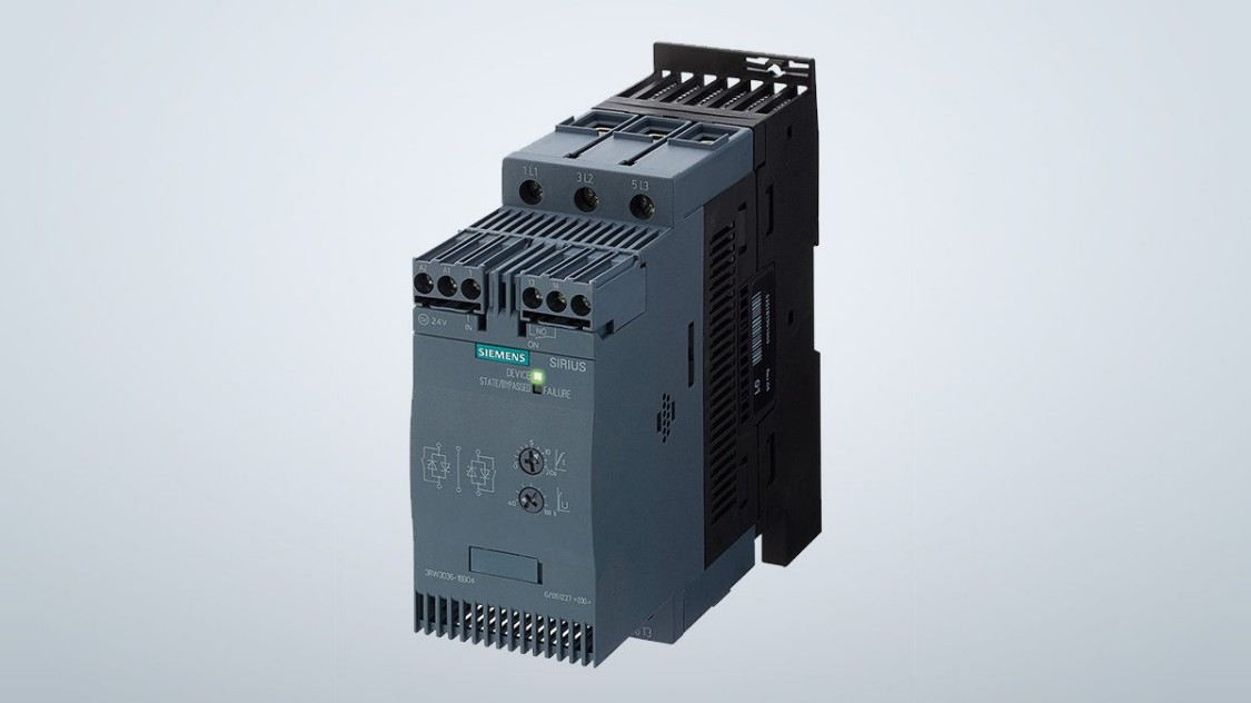 Siemens SIRIUS Softstarter 3RW30