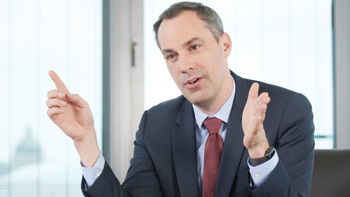 Cedrik Neike, PDG de Siemens Smart Infrastructure