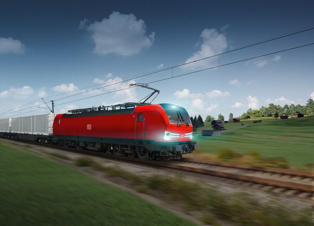 Siemens schließt Rahmenvertrag über 100 Lokomotiven mit der Deutschen Bahn