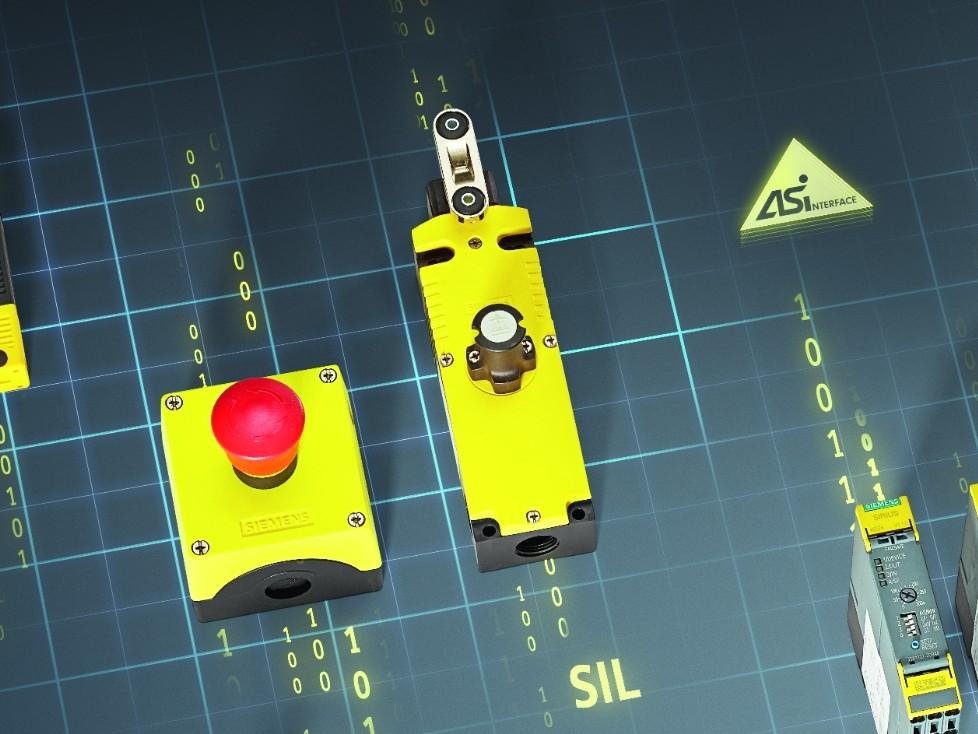 Positions- und Sicherheitsschalter SIRIUS 3SF1 mit AS-Interface
