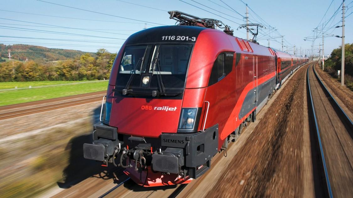 Vagões de passageiros Viaggio da Siemens