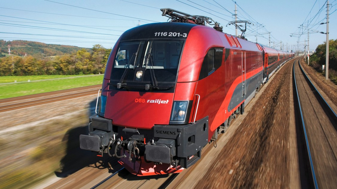 ÖBB – Railjet-Garnituren auf Basis des Viaggio Comfort