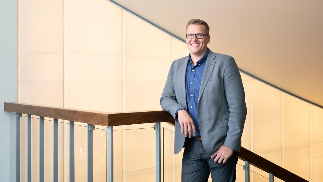 Ville Kautto, Maintenance Manager bei der Universitätsimmobiliengesellschaft Finnlands (SYK)