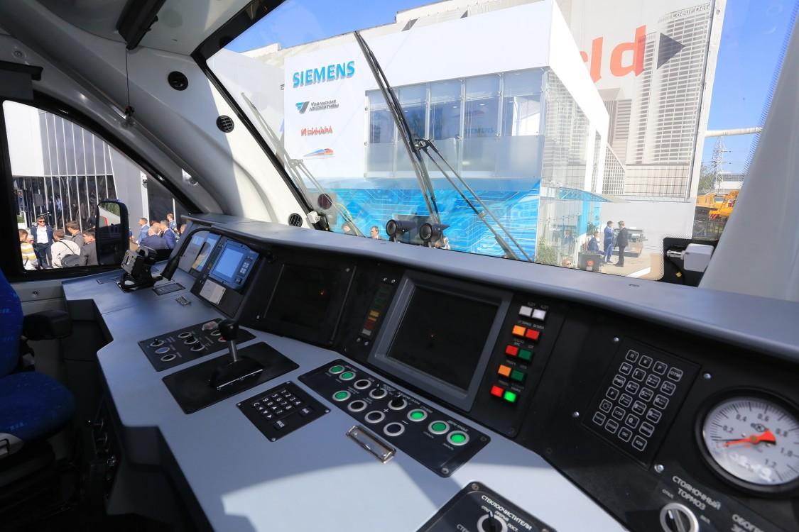 На международном салоне PRO//Движение.Экспо «Сименс Мобильность» представляет инновационные решения для железнодорожного транспорта, способствующие формированию транспортной системы будущего