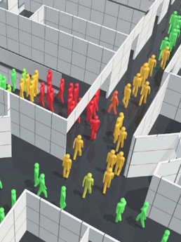Building Information Modelling (BIM), Evakuierung mit IFC-basierter Software