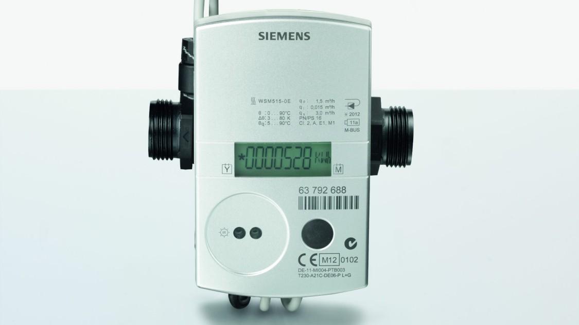 Medidores de energía ultrasónicos de calentamiento/enfriamiento