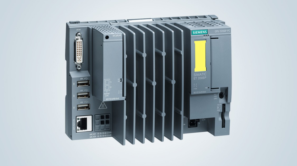 SIMATIC ET 200SP Open Controller with Safety Integrated