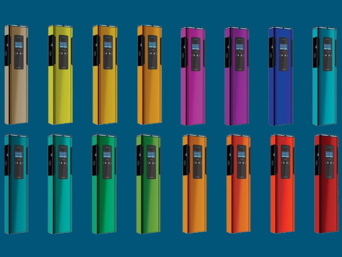 Umfangreiche Farbpalette