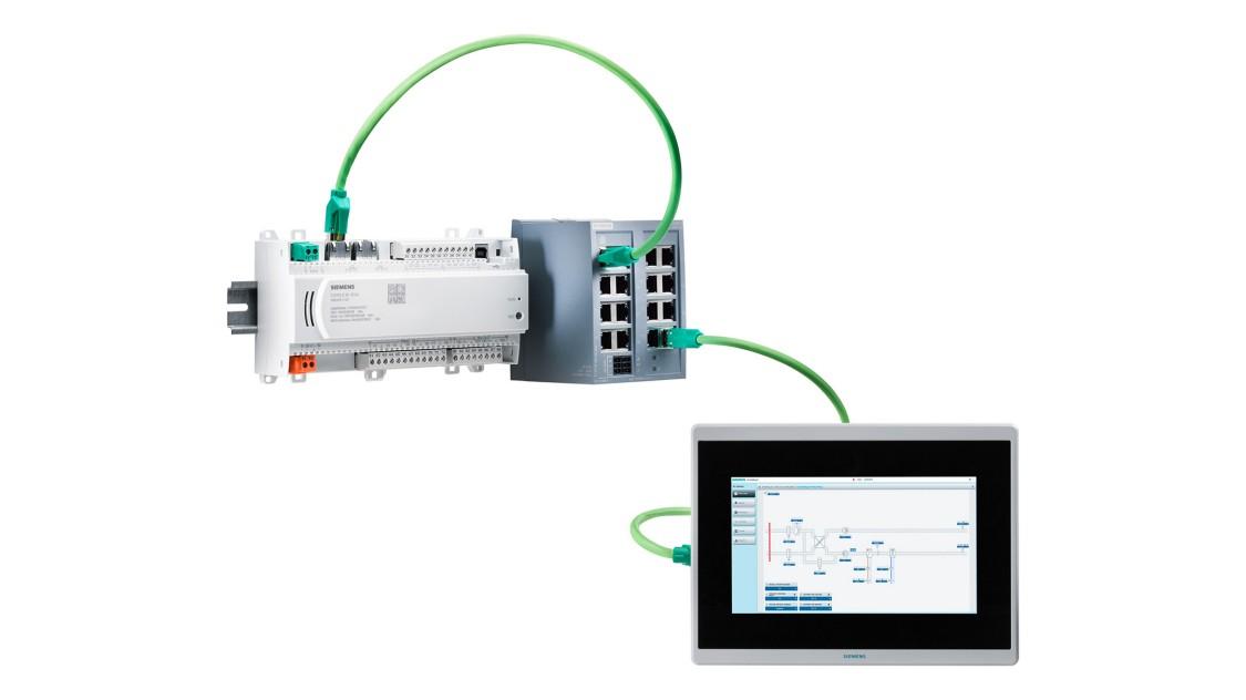 Bild eines unmanaged SCALANCE XB-100 Industrial Ethernet Switch