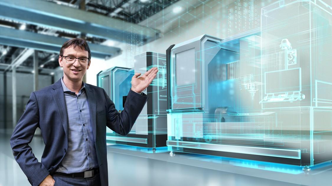 Digitalisierunglösungen für den Werkzeugmaschinenhersteller