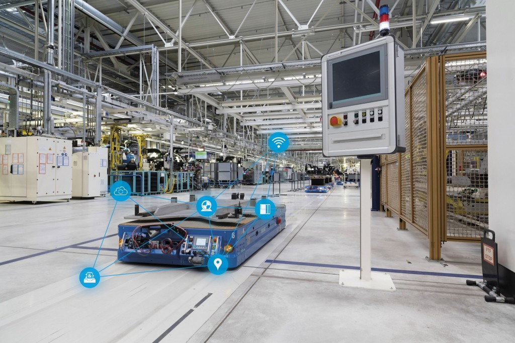 Siemens presents solutions for the digital transformation of the intralogistics sector